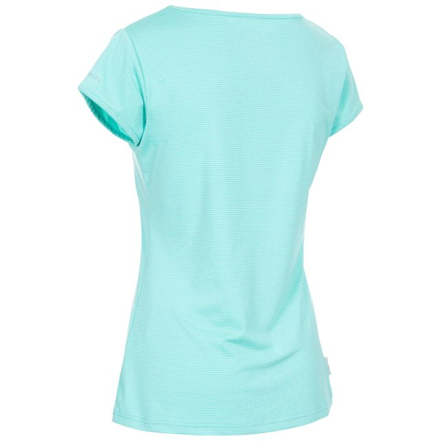 Mirren Women's Quick Dry Active T-Shirt in Light Blue