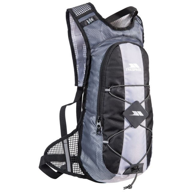 Mirror 15 Silver Cycling Hydration Pack in Light-Grey, Front view