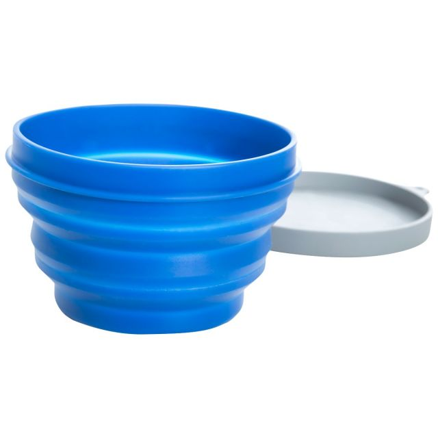 500ml Silicone Collapsible Bowl  in Blue