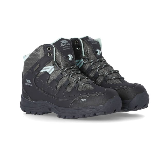 Mitzi Women's Waterproof Walking Boots in Grey