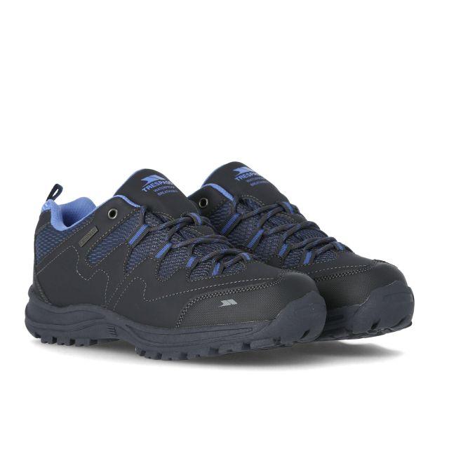 Mitzi Women's Waterproof Walking Shoes in Grey