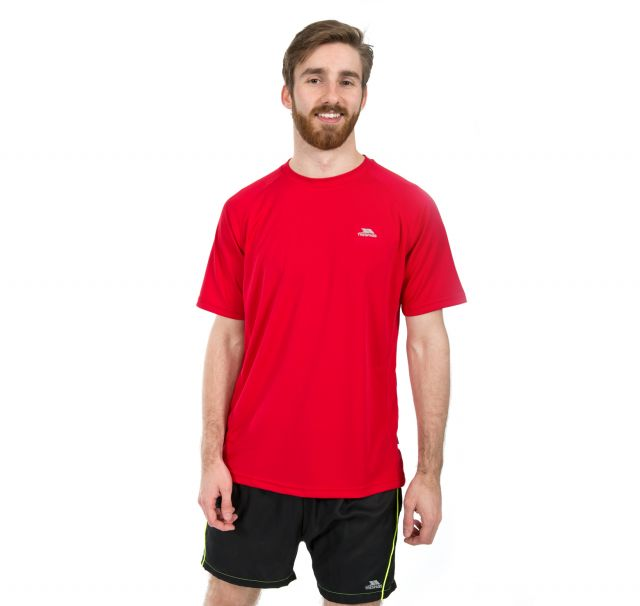 Debase Men's Quick Dry Active T-shirt