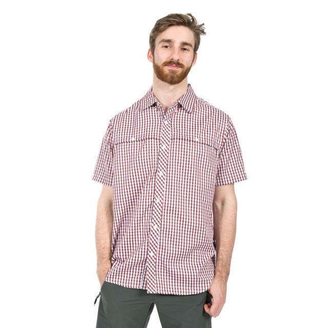 Dermus Men's Short Sleeve Checked Shirt