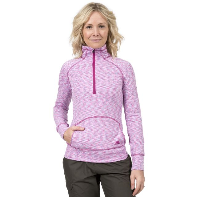Moxie Women's 1/2 Zip Long-Sleeve Top