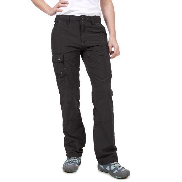Pelino Women's Water Repellent Trousers in Black