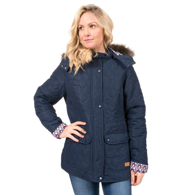 Trespass Womens Casual Jacket Jenna in Navy