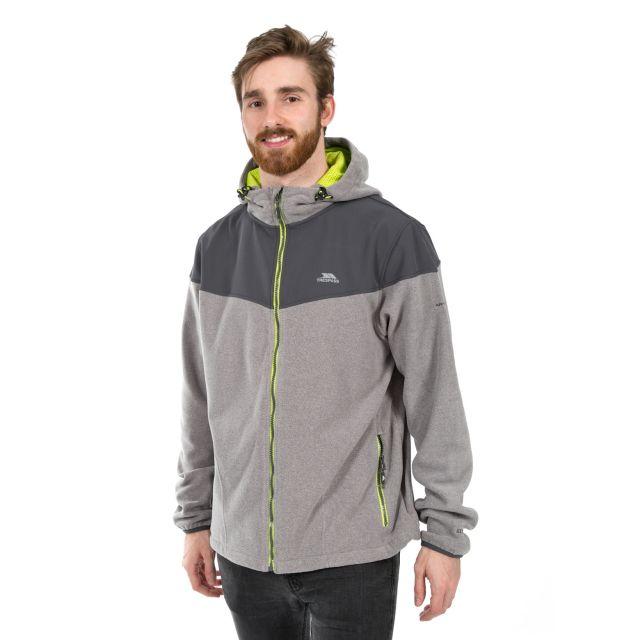Morsley Men's Fleece Hoodie in Grey