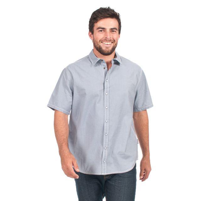 Luke Men's Short Sleeve Cotton Shirt
