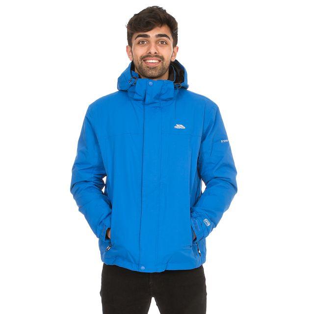 Donelly Men's Waterproof Jacket in Blue