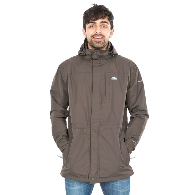 Edwin Men's Waterproof Jacket in Khaki