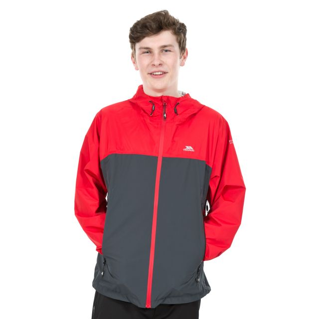 Waylon Men's Waterproof Jacket in Red
