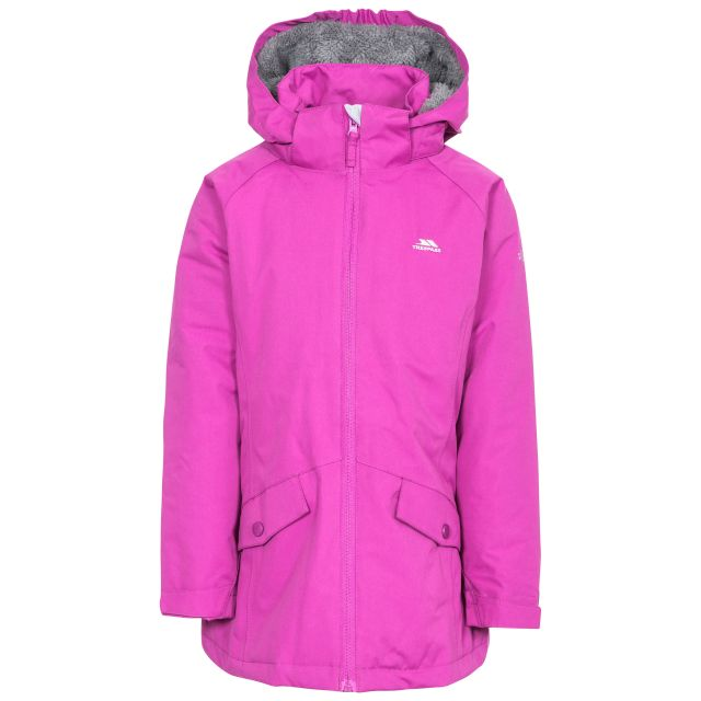 Moonstar Girls' Waterproof Jacket in Purple