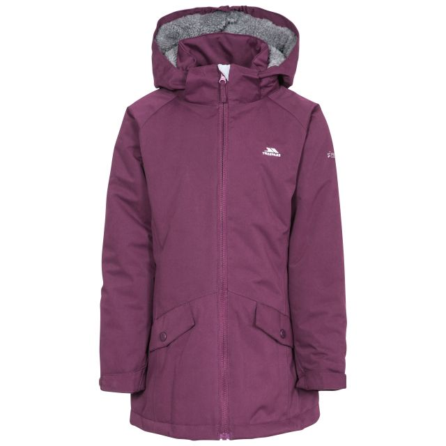 Moonstar Girls' Waterproof Jacket in Purple
