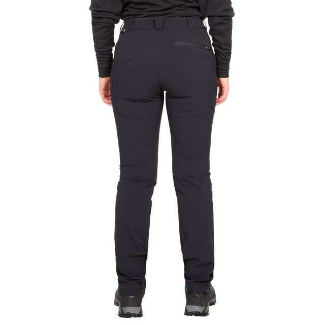 Moreno Women's DLX Eco-Friendly Walking Trousers in Black