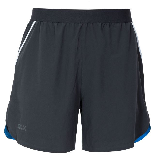 Motions Men's DLX Quick Dry Active Shorts - BLK