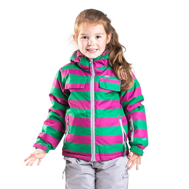 Motley Kids' Ski Jacket in Pink