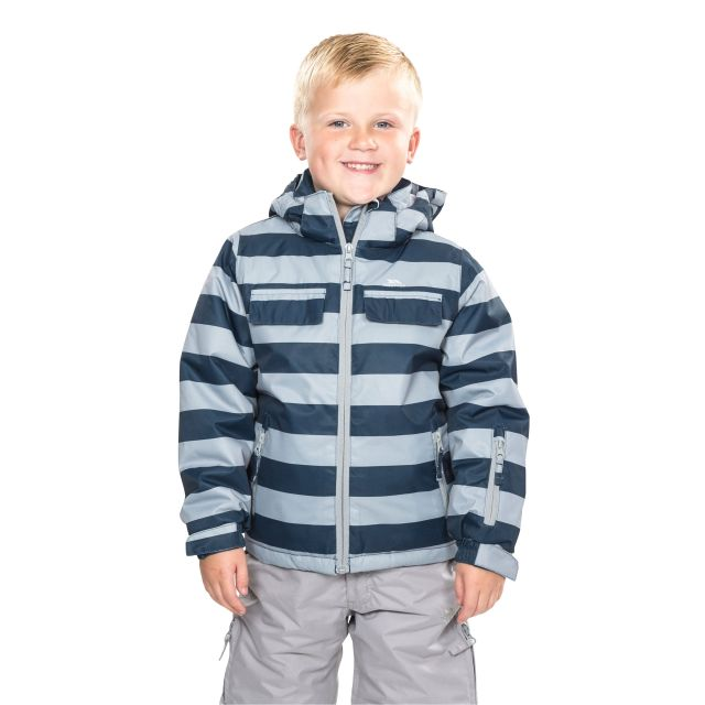 Motley Kids' Ski Jacket in Navy