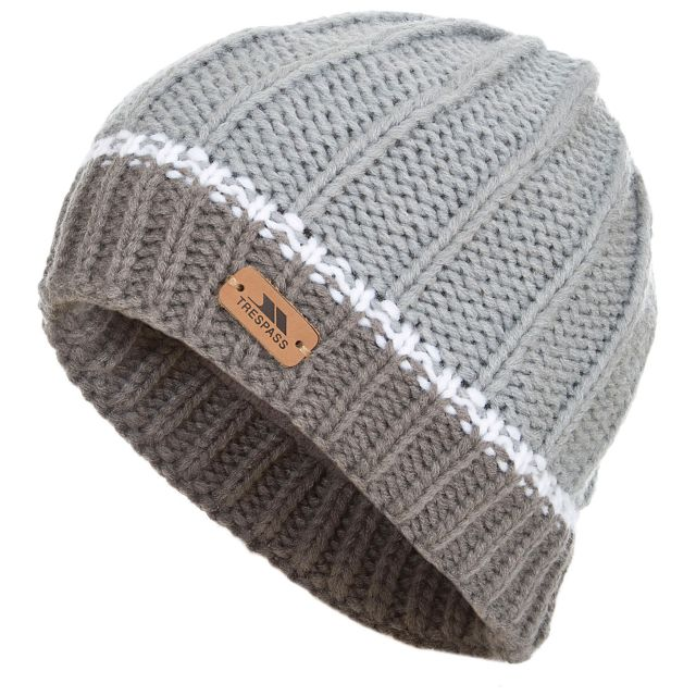 Mufasa Kids' Knitted Beanie in Grey