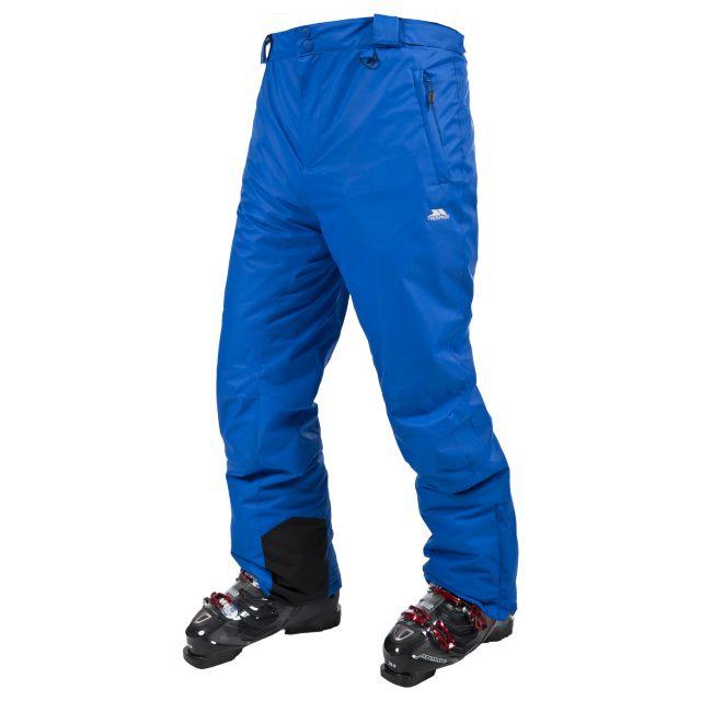 Mulford Men's Ski Pants - Orange in Blue