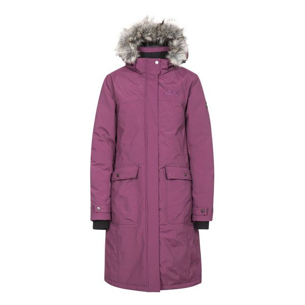 Munros Women's DLX Waterproof Down Jacket in Burgundy