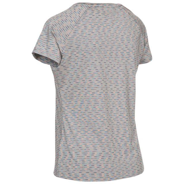 Trespass Women's Activewear Multi-Stripe T-Shirt Myrtle Multi Stripe