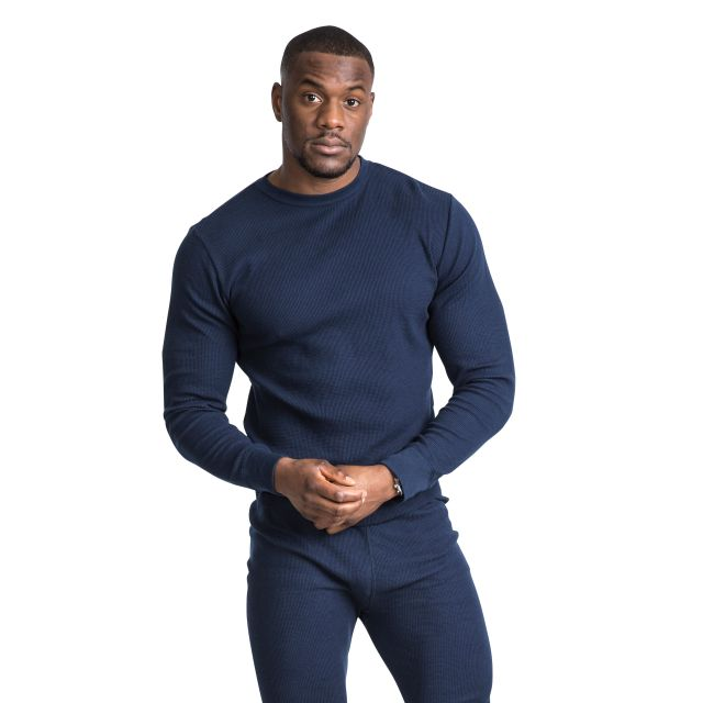 Mystery Unisex Super Soft Thermal Set in Navy