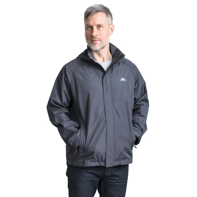 Nabro II Men's Waterproof Jacket in Grey