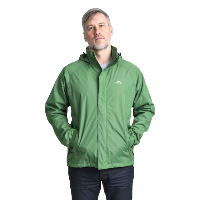 Nabro II Men's Waterproof Jacket in Green