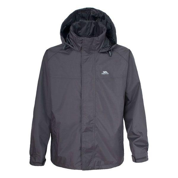 Nabro Boys' Waterproof Jacket in Grey