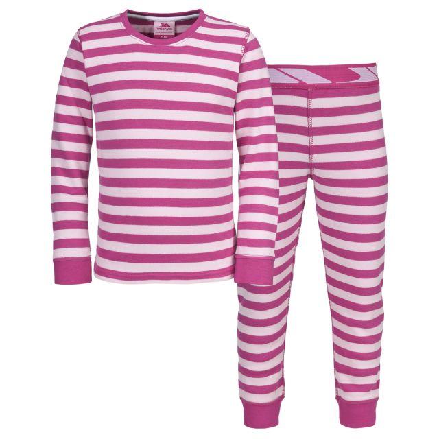 Nadia Girls Pink Base Layer Set in Pink