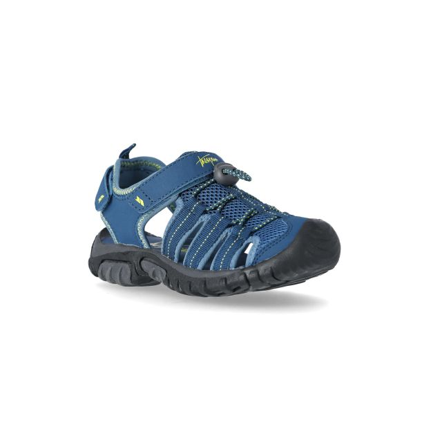 Nantucket Kids' Sandals in Navy