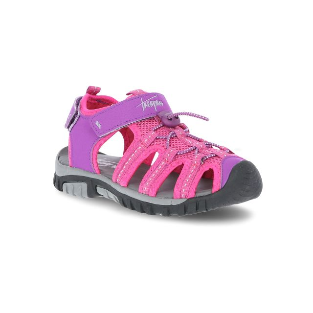 Nantucket Kids' Sandals in Purple