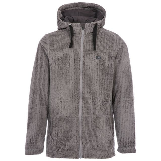 Napperton Men's Hooded Fleece Jacket - STG