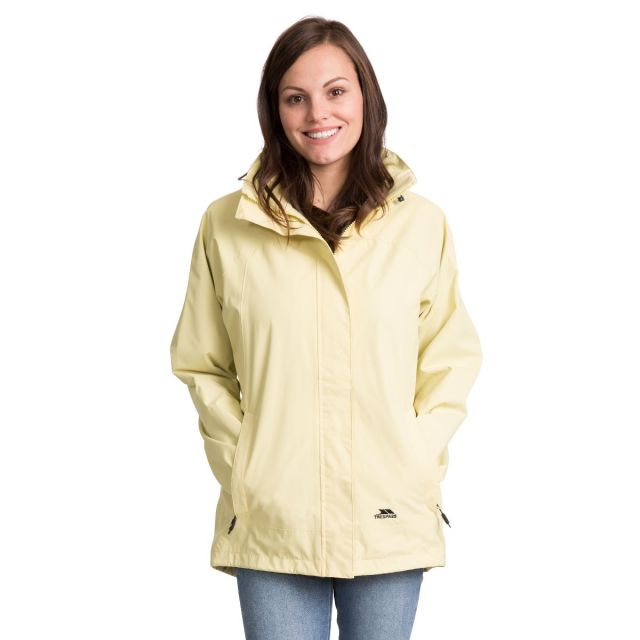 Trespass Womens Waterproof Jacket Nasu II in Green