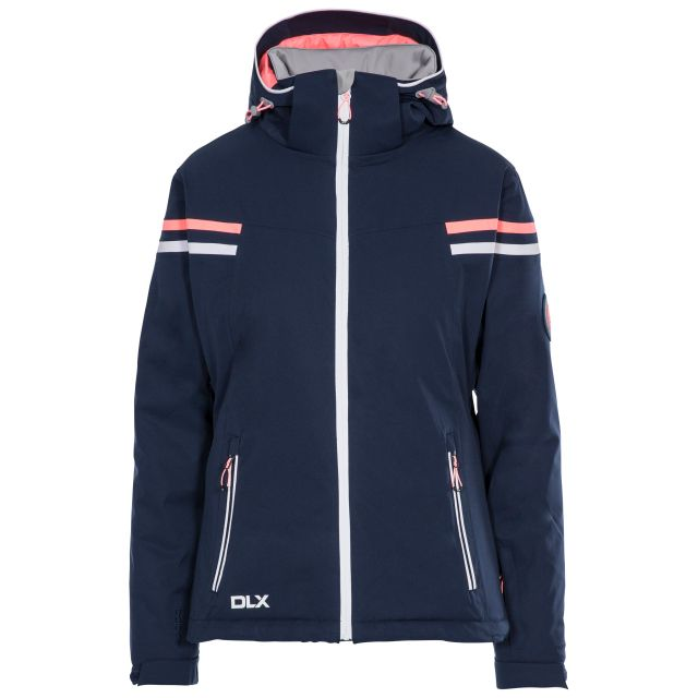 DLX Womens Waterproof Ski Jacket Recco Natasha in Navy