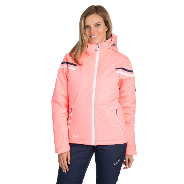 Natasha Women's DLX RECCO Waterproof Ski Jacket in Peach
