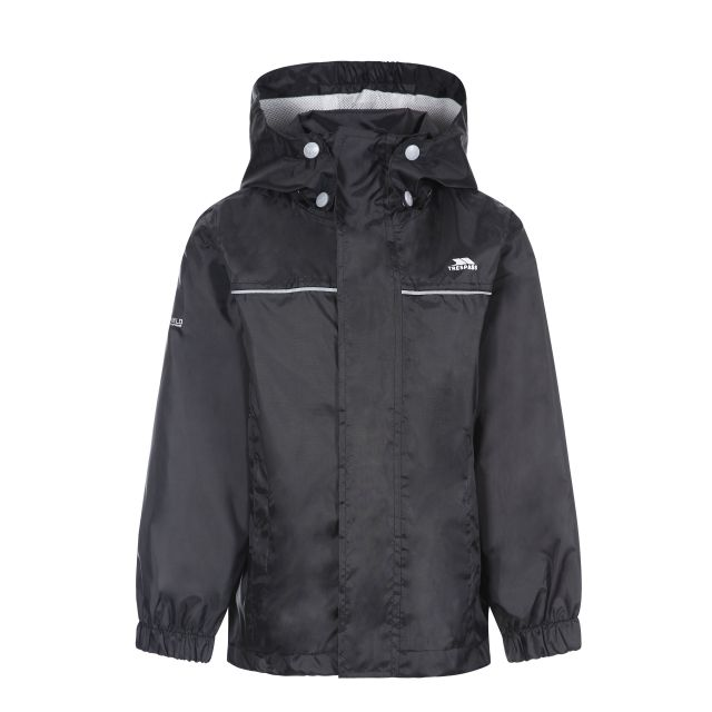 Neely Kids' Waterproof Jacket in Black