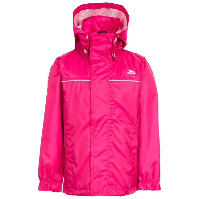 Neely Kids' Waterproof Jacket in Pink