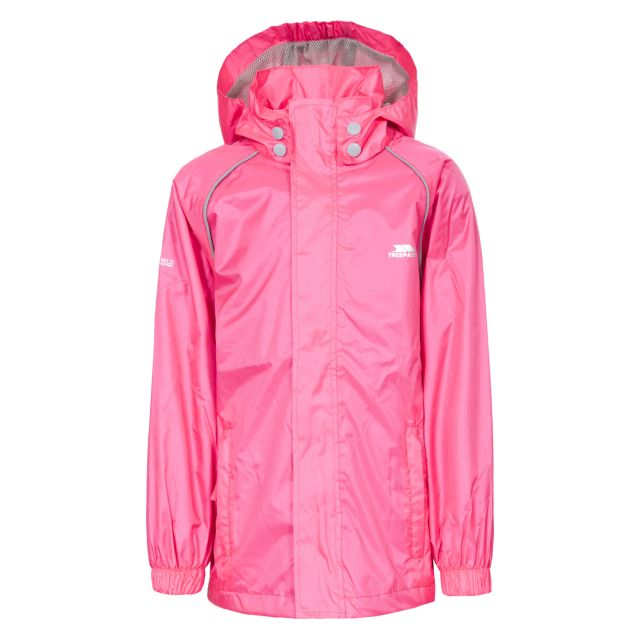 Neely II Kids' Waterproof Jacket in Pink