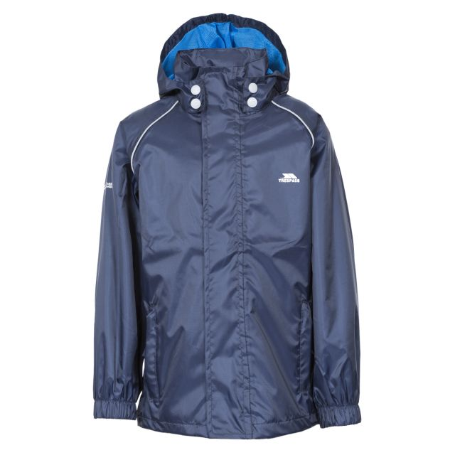 Neely II Kids' Waterproof Jacket in Navy