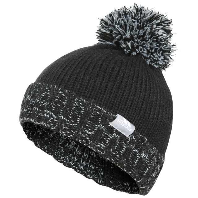 Nefti Kids' Bobble Hat in Black