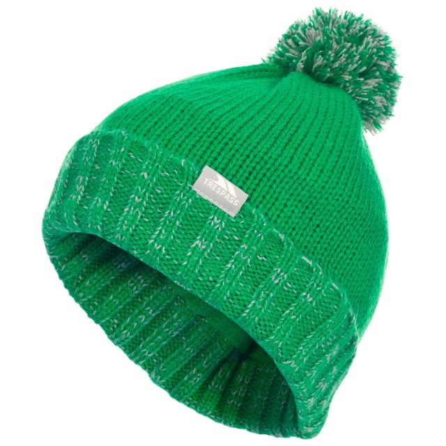 Nefti Kids' Bobble Hat in Green