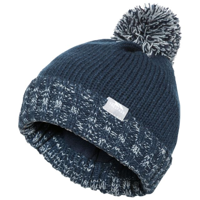 Nefti Kids' Bobble Hat in Navy