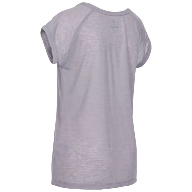 Newby Women's Quick Dry Active T-Shirt in Grey