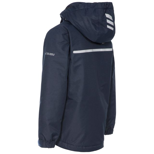 Nicol Kids' Waterproof Jacket in Navy