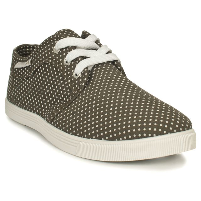 NIEVE Womens Casual Lace Up Shoes in Khaki