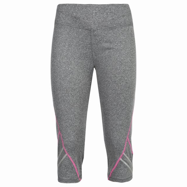 Nimbo Womens Running Leggings in Grey