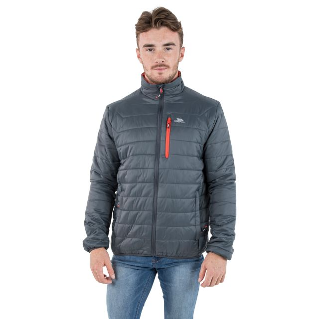 Norman Men's Lightweight Padded Casual Jacket in Grey