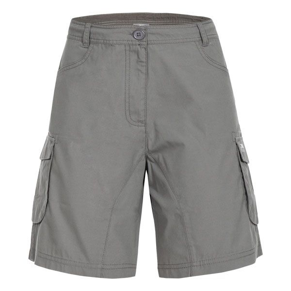 Nova Women's Trekking Shorts in Grey