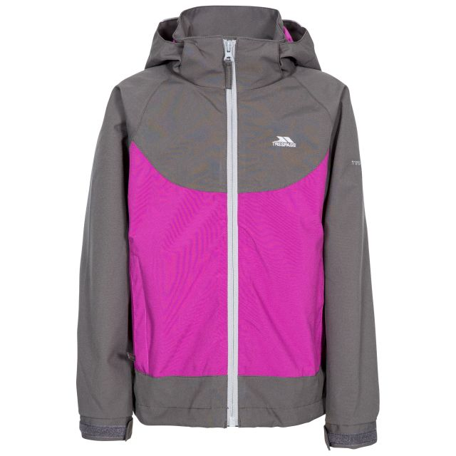 Novah Kids' Waterproof Jacket in Purple